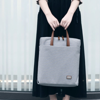dpark New Group Series 13/14/15 inch Portable Handbag Notebook Sleeve Bag Shoulder Messenger Laptop Case Bags Casual Tote Bag