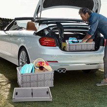 Multi-Function Car Folding Storage Box/Household Large Capacity Ollow Design Basket Drain