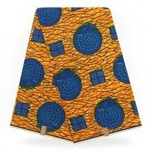 Горячий воск настоящий принт ткань голландский батик в африканском стиле воск Настоящее нигерийское растение стиль хлопок