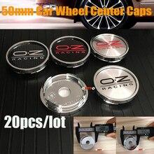 Covers Emblem-Caps Logo Chrome-Wheel Honda Toyota Center Hyundai Peugeot 4pcs 20pcs