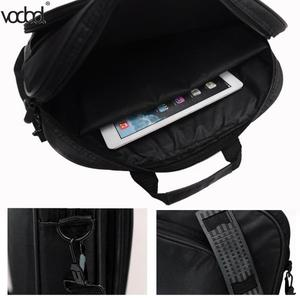 Image 5 - VODOOL Laptop Bag Computer Bag Business Portable Nylon Computer Handbags Zipper Shoulder Laptop Shoulder Handbag High Quality