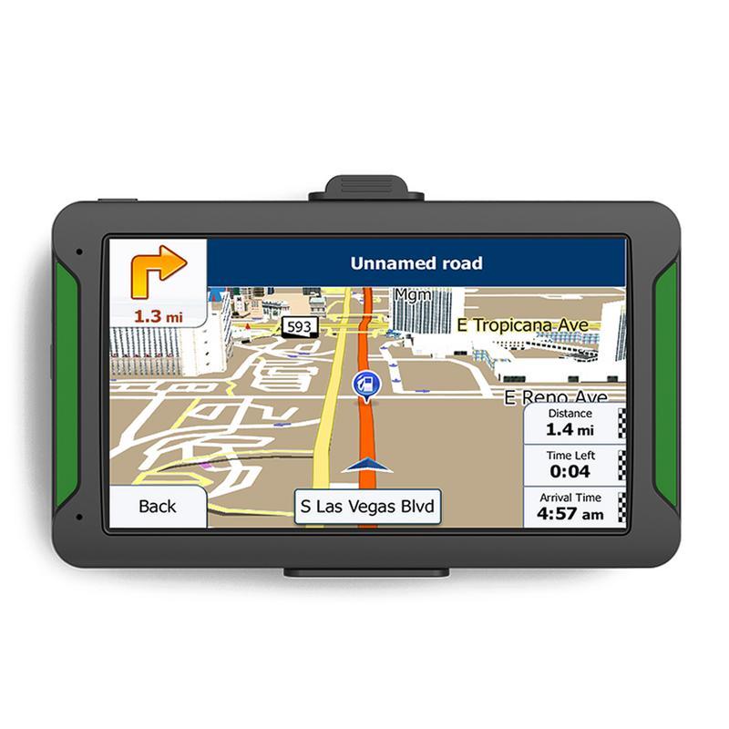 7 HD GPS Navigator System With Lifetime 3D Maps Spoken Voice Navigation WIFI FM Handwriting Driver