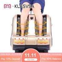 KLASVSA Горячий Электрический нагрев ног Массажер шиацу вибратор роликовая терапия Рефлексология боли здоровье и гигиена Релаксация
