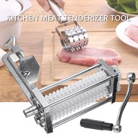 Kitchen Manual Meat Tenderizer Pork Beef Steak Heavy Duty Clamp Roller Machine Flatten Tool Meat Poultry Tools 25x20x10cm