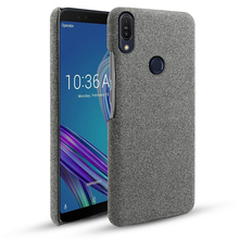 For Asus Zenfone Max Pro M1 ZB602KL ZB601KL Case Slim Fabric Woven Cloth Anti-Scratch Hard Cover