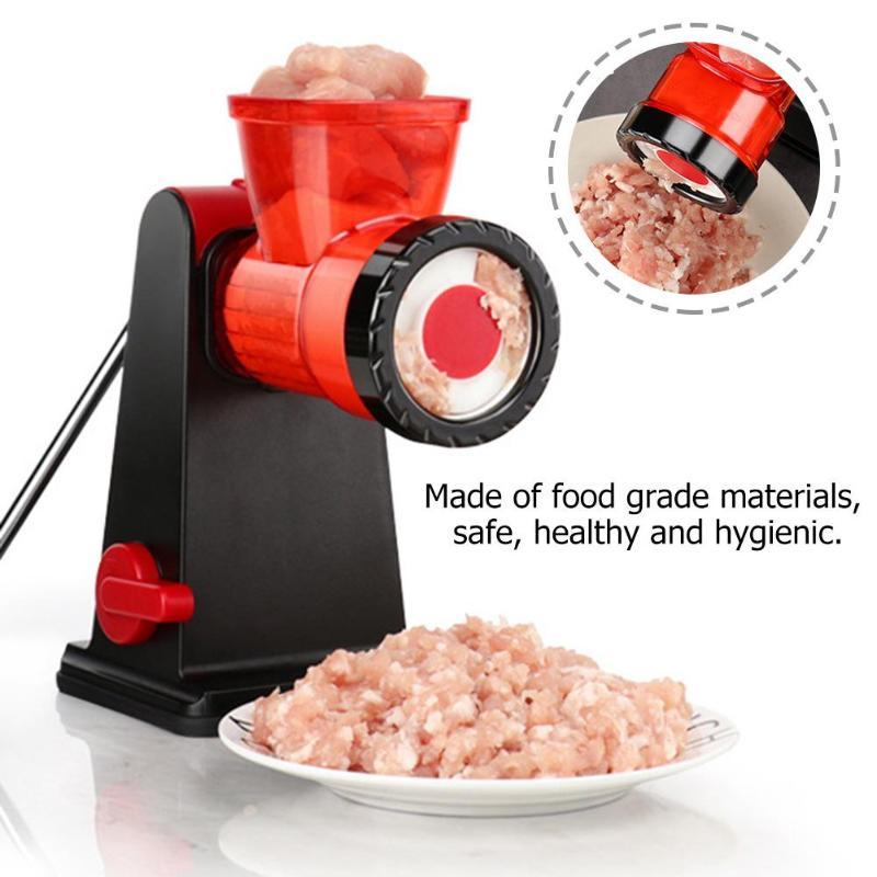 Vacuum Sucker Manual Meat Grinder Sausage Stuffer Mincer Chopper Cocina Shredder Food Chopper Household Processor Kitchen Tool