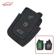 Kigoauto car Remote key fob 3 button 434Mhz for Ford Focus  C-Max Fiesta Mondeo S-Max 2008 2009 2010 kigoauto kr55wk48801 smart key case 3 button for ford kuga fiesta focus 2008 2010 2012