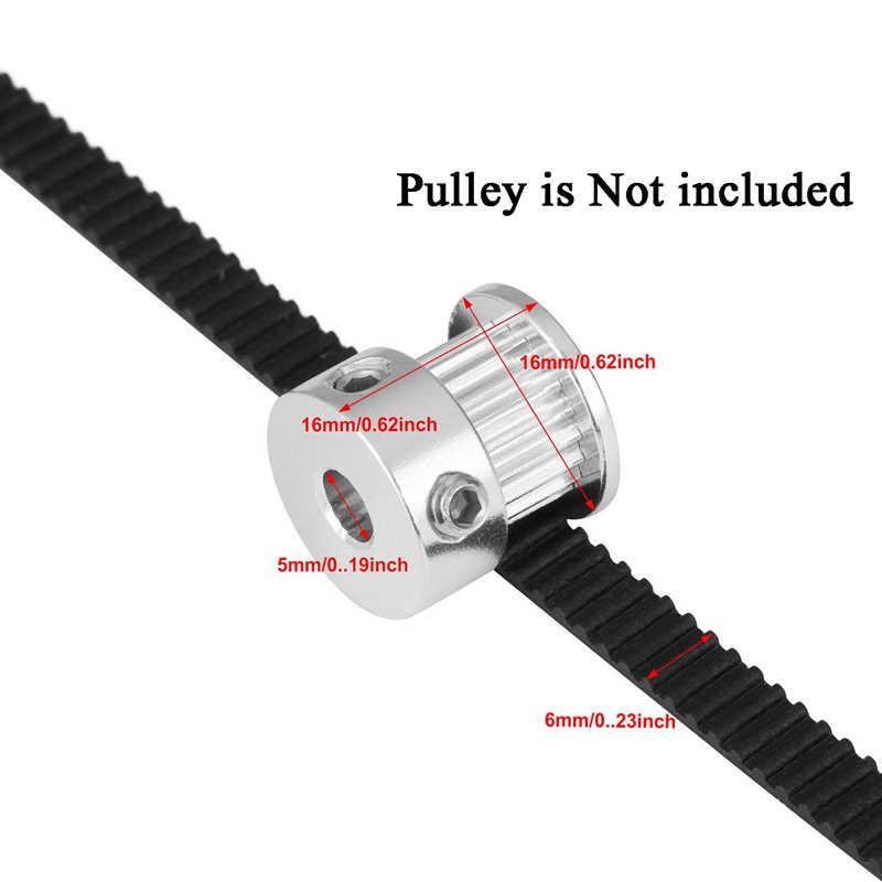 GT2 замкнутый контур зубчатый ремень резиновый 2GT 6 мм 3D принтеры Запчасти 110 112 122 158 200 280 300 400 610 852 мм синхронный Ремни часть