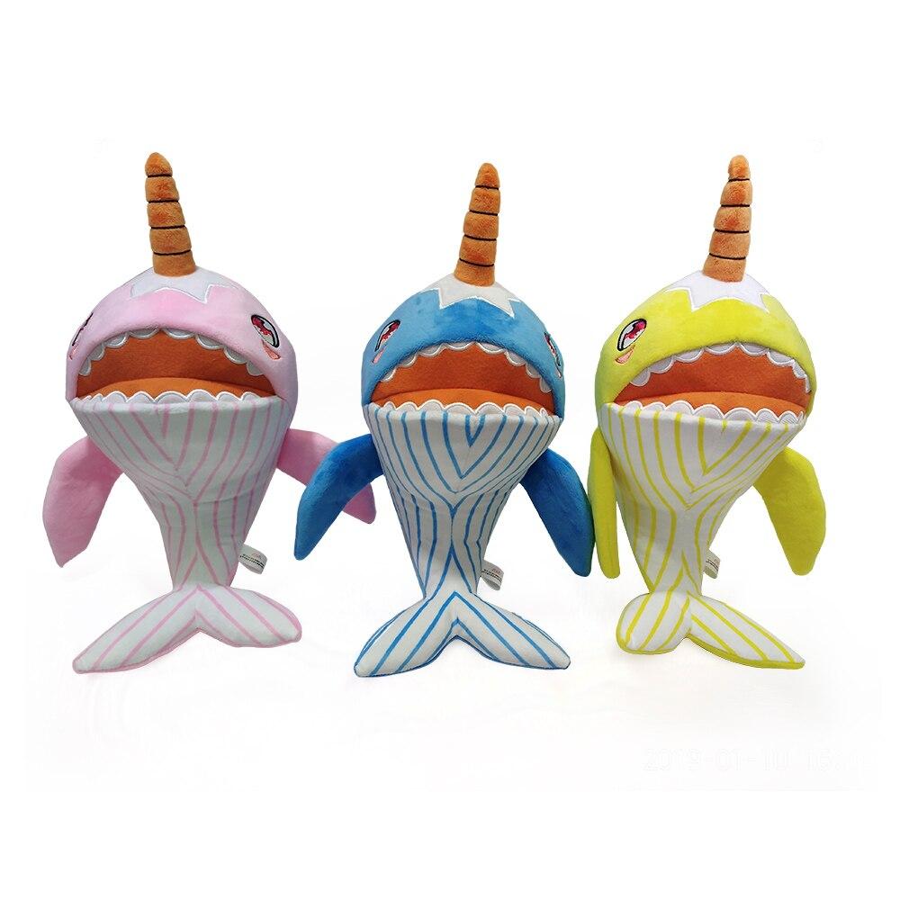 Sammeln & Seltenes Narwhals Gefüllte Baby Plüsch Shark Spielzeug Integrierten Musik Familie Party Puppen Geburtstag Neue Jahr Geschenk Für Kinder Farbe Blau/ Rosa/gelb Stofftiere & Plüsch