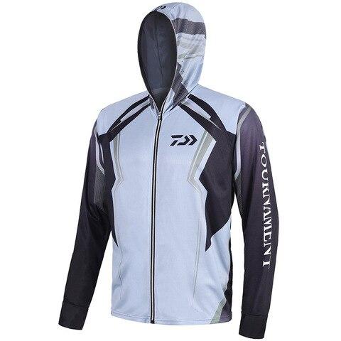 1pc s 5xl tamanho grande camisa da pesca jaqueta esporte caminhadas ao ar livre anti