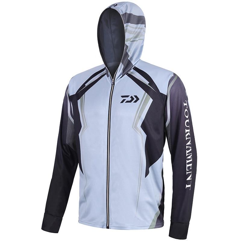 S 5XL Big Size Fishing Shirt Outdoor Sport Anti mosquito Fishing Clothing Suit Men Spring Fishing Jacket Hoodie Pesca|Fishing Clothings| |  - title=