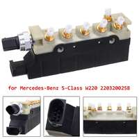 Air Suspension Compressor Valve Block for AMG 2000 2006 For Mercedes Benz S Class W220 2203200258 S350 S430 S500 S600 S55 S65