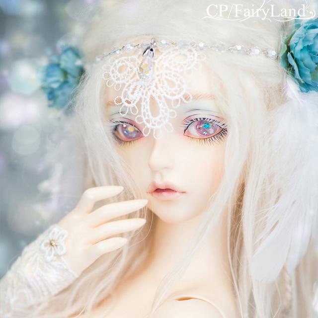 New arrival Free Shipping Minifee Cygne BJD Dolls 1/4 Fashion Flexible Resin Figure Female Fairies Toy For Children Fairyland