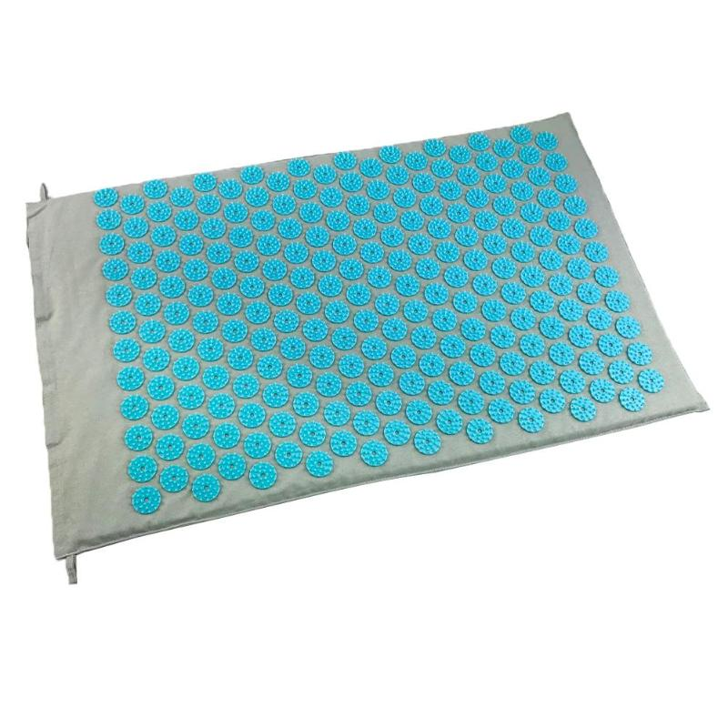 Stress and Pain Relaxing Acupressure Massage Mat with Cushion Set to release Stress and Tension 4