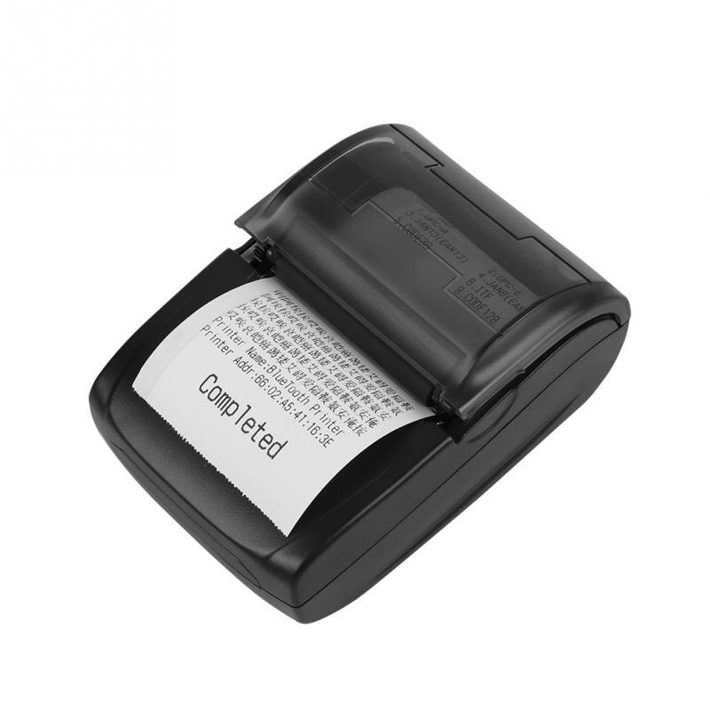 Portable 58mm Bluetooth 4.0 Imprimante Thermique Sans Fil USB POS Réception Imprimante Thermique À Faible Bruit pour Restaurant Supermarché Bureau