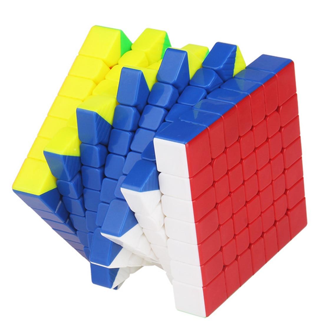 Yuxin Haisi 7x7 Magnétique Version Magic Cube jouets éducatifs Pour La Formation Du Cerveau-Coloré