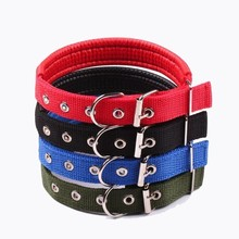 Cheap Basic Small Dog Collar With Free Ship Pitbull Adjustable Puppy Collar Beagle Pet Accessories Cats Products For Pets S-XXL