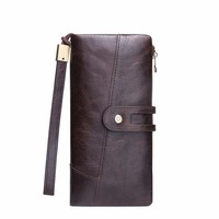Luxury Brand Men Clucth Wallets Male Long Genuine Leather Purse Men's Clutch Wallets Carteiras Mujer Clutch Man Handy Bags
