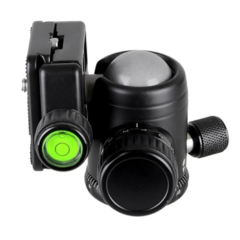 Bexin K36 Universale 360 Rotazione Orizzontale Panoramica Treppiedi Testa A Sfera Heavy Duty Piastra Di Carico 20Kg Con Releae Veloce Per Può