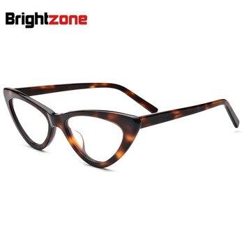 Gafas a la moda De tamaño pequeño con ojos De gato, montura transparente para mujer, gafas De Grau Redondo Brillengestell Frauen 2018, gafas De diseñador