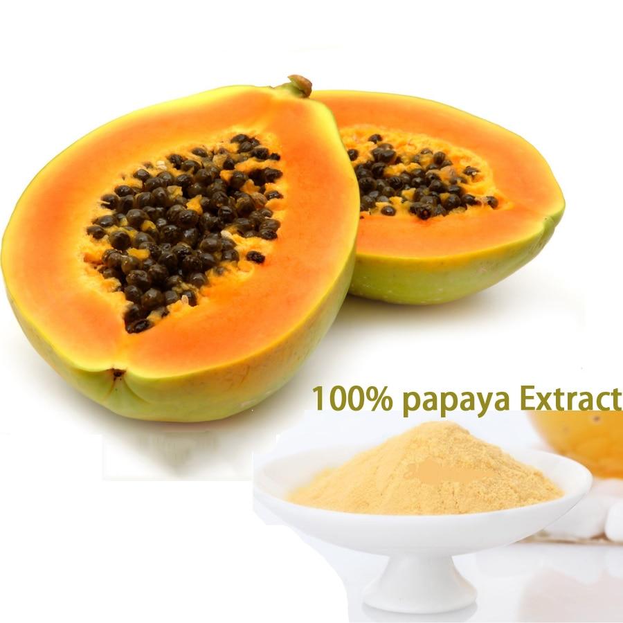 Pur naturel 100% contenu extrait de papaye à base de plantes poudre amélioration du sein beauté fesses augmenter les hanches tache de rousseur soins de santé