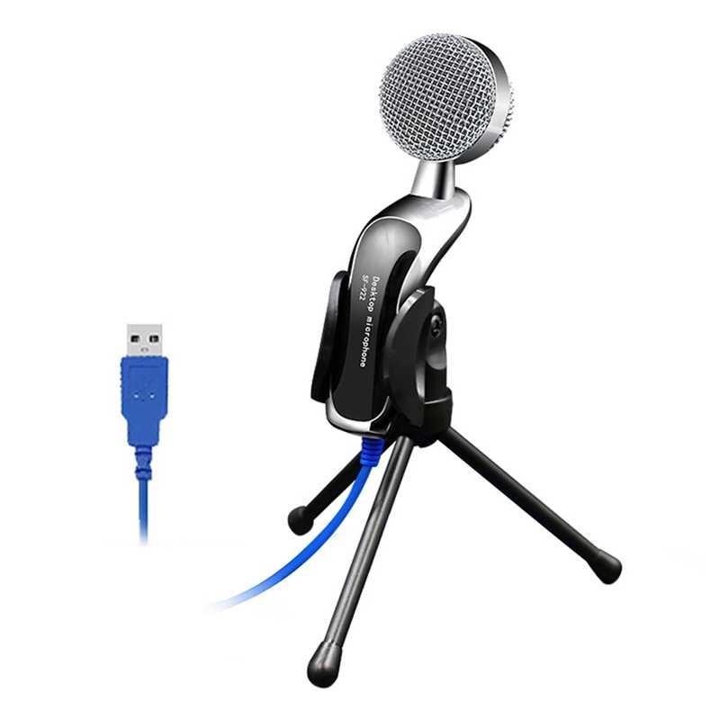 SF-922B Professional звук USB конденсаторный Профессиональный мини микрофон Studio для портативных ПК в чате аудио запись конденсатор KTV Mic
