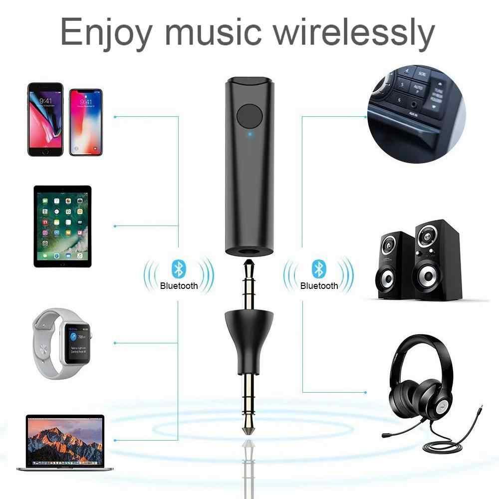 Bluetooth 5,0 стерео аудио адаптер 3,5 мм 2,5 мм A2DP Handsfree музыкальный приемник для автомобиля музыкальные наушники ресивер d18
