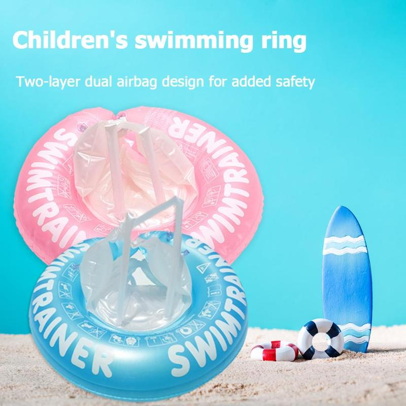 Baby Swimming Ring Inflatable Infant Armpit Float Circle Bathing Inflatable Double Raft Rings Kids Swim Pool Circle SwimmingToy