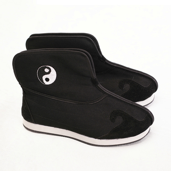 Winter Rubber Sole  Taoist Shoes Chinese Traditions Footwear Tai Chi Shoes  Kung Fu Wushu Shoes