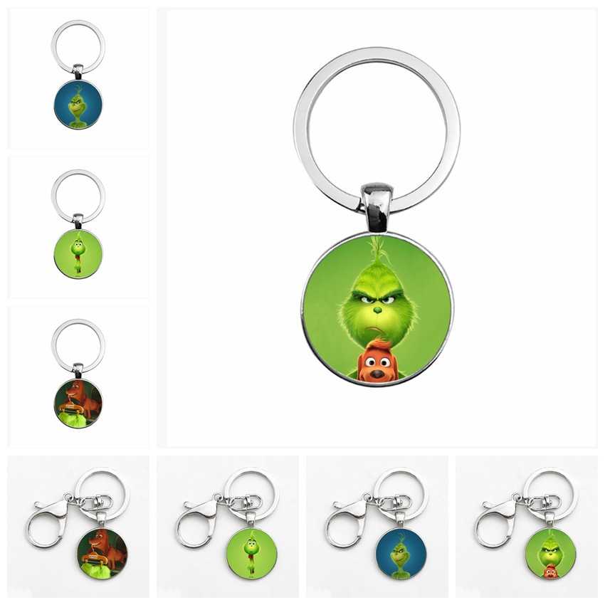 The Grinches Key Chain How The Grinches Stole Christmas New The Grinches Keychain Holiday Gifts