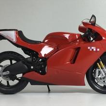 Супермотоцикл 1/12 специальное литье металла под давлением Статический Настольный дисплей Коллекция Модель игрушки для детей