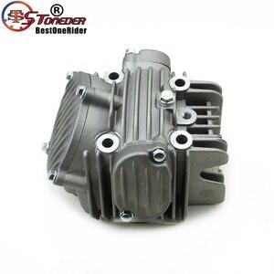 Image 2 - Stoneder 60mm cabeça do cilindro motor assy para zongshen z155 150cc 160cc 1p60ymj mx thumpstar explorador braaap atomic pit bicicleta da sujeira