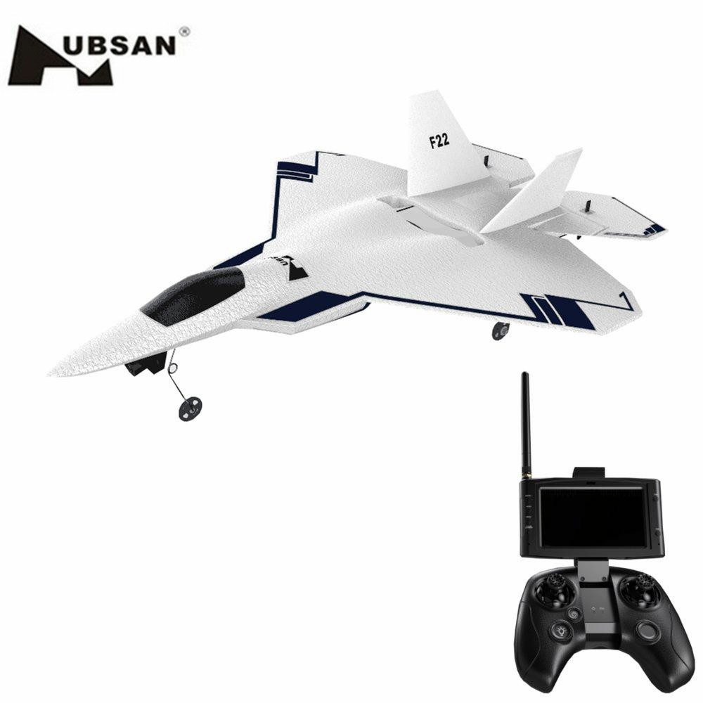 HUBSAN Rc-Aircraft Return-Function Camera Rc-Fighter-Jet with 720P HD GPS EPO 4CH Fixed