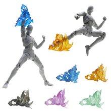 プラスチック魂ネジ衝撃効果モデル仮面ライダー Figma SHF アクションフィギュアキックおもちゃ特殊効果アクション玩具フィギュア 1 個