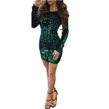 MUXU green sequin backless patchwork sexy vestidos bodycon women clothing glitter kleider fashion short dress woman clothes
