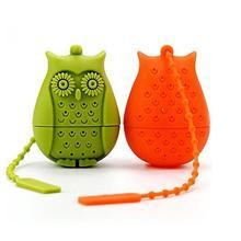 Creative Cute Silicone Owl Tea Strainer Tea Bags Food Grade