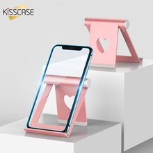 KISSCASE Universal Desk Phone Holder For All Mobile Pad Xiaomi Folded Desktop Tablet Stand Accessories