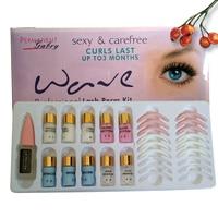 Eyelash Wave Lotion Permanent Makeup Eyelash Curling Last Up T0 3 Months Eye Lash Perm Kit Perming Curler Eyelash