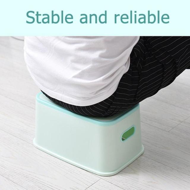 Kids Plastic Multifunction Footstool Baby Portable Toilet Training Anti-skid Stool Kids Plastic Chair Footstool Accessories 4