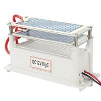 12V Car Air Purifier Mini Auto Fresh Air Anion Purifier Oxygen Bar Ozone Ionizer Ozone Ceramic Plates Air Humidifier Drop Ship