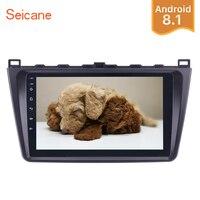 Seicane 2Din Android 8,1 9 GPS автомобильный радиоприёмник мультимедийный плеер головное устройство для Mazda 6 Rui крыло 2008 2009 2010 2011 2012 2013 2014