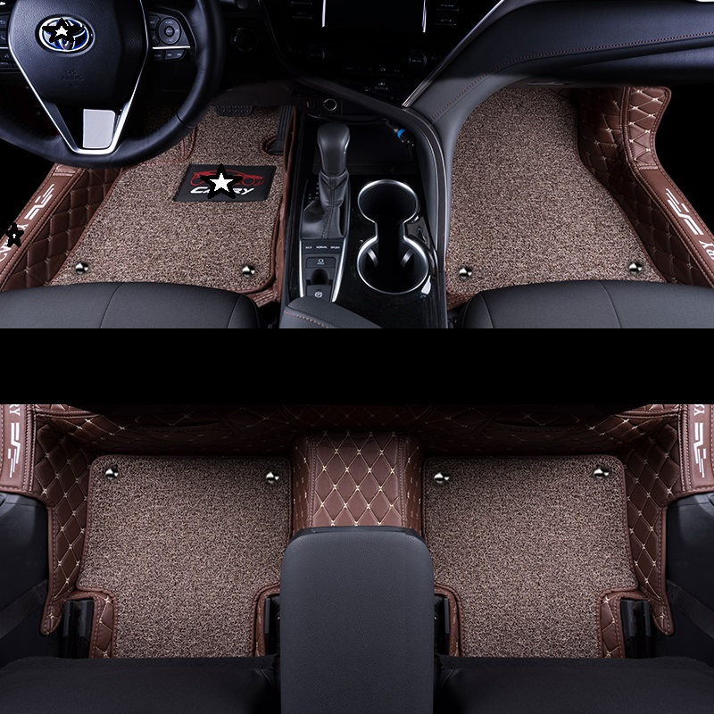 Accessories Auto Styling Modification Parts Decoration Protector Decorative Accessory Car Carpet Floor Mats For Audi A6l Interior Accessories