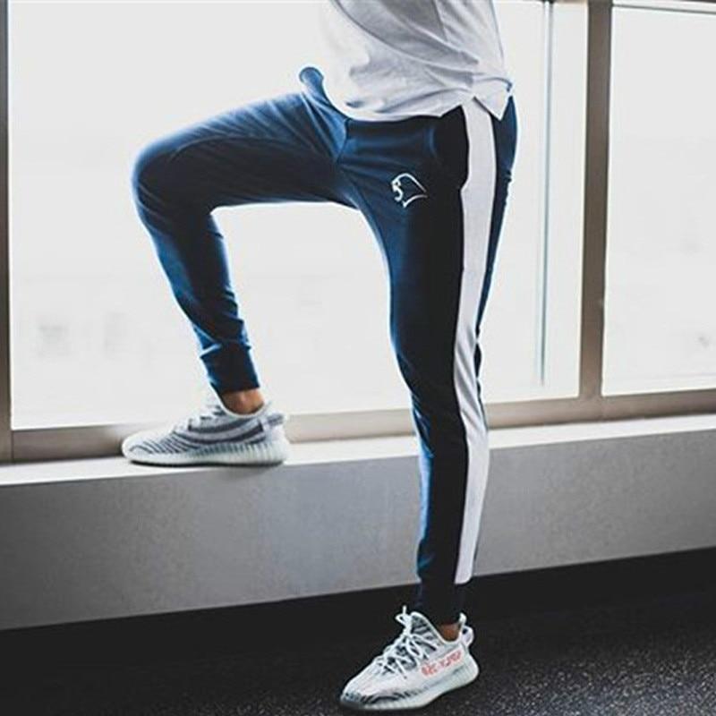 Men Pants 2018 New Side Stripe Design Mens Joggers Casual