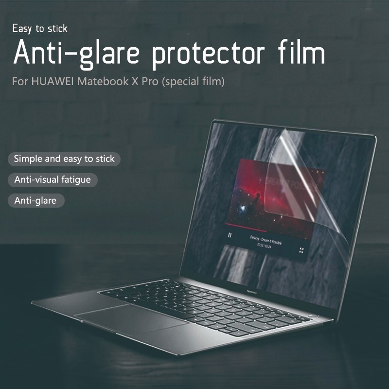 Anti-glare Screen Protector film laptop For Matebook X Pro 13.9 Inch Notebook Special-purpose Anti-Scratch protect membrane.