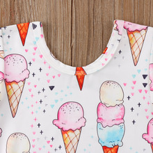 Kid Baby Bodysuits Ice Cream Style 0-18M