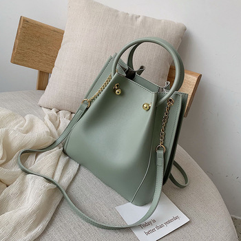 Female Bucket Crossbody Bags For Women  Leather Luxury Handbag Designer Sling Sac A Main Ladies