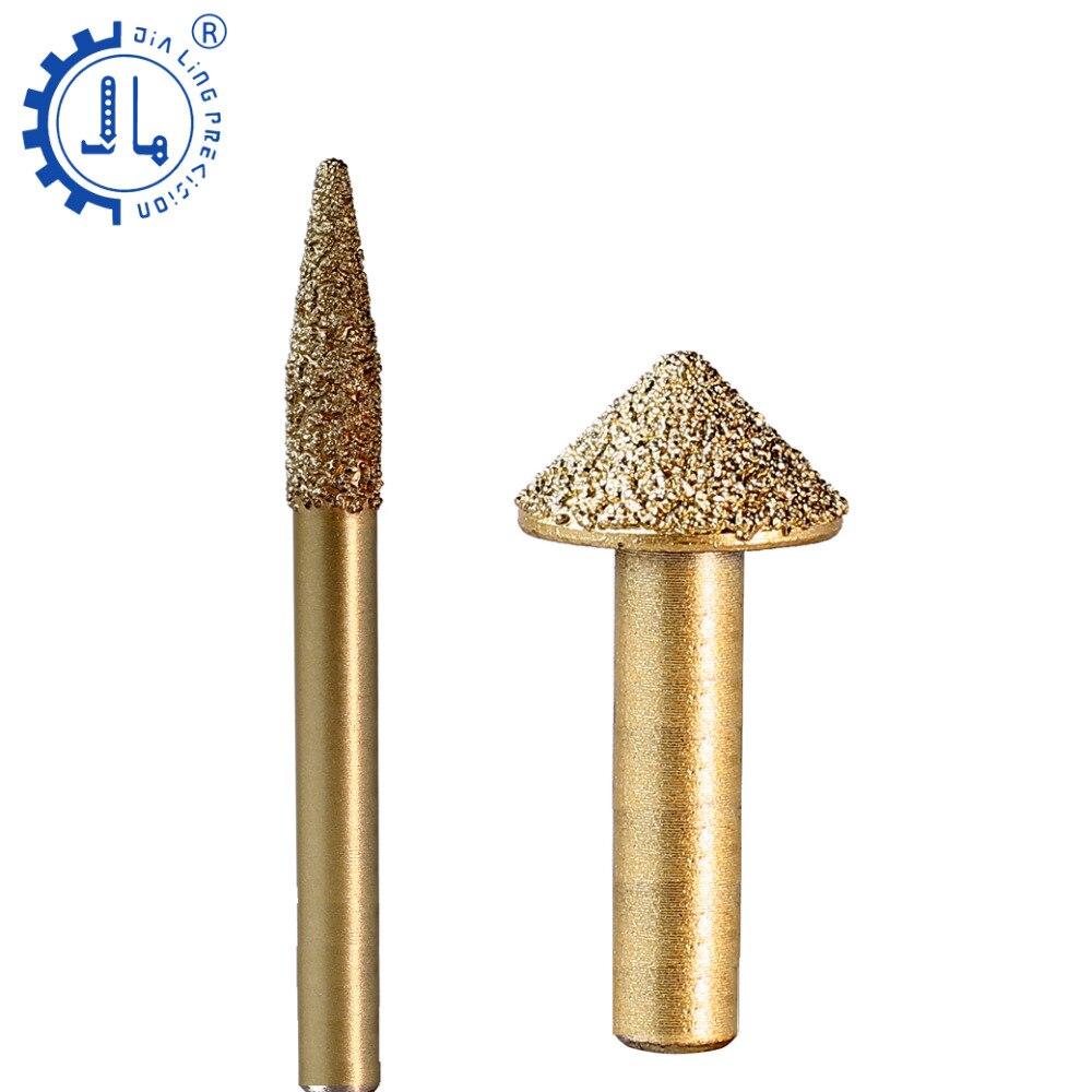 JIALING 1 pc CNC granite cutter granite router carving tools cnc router marble router granite carving cutter