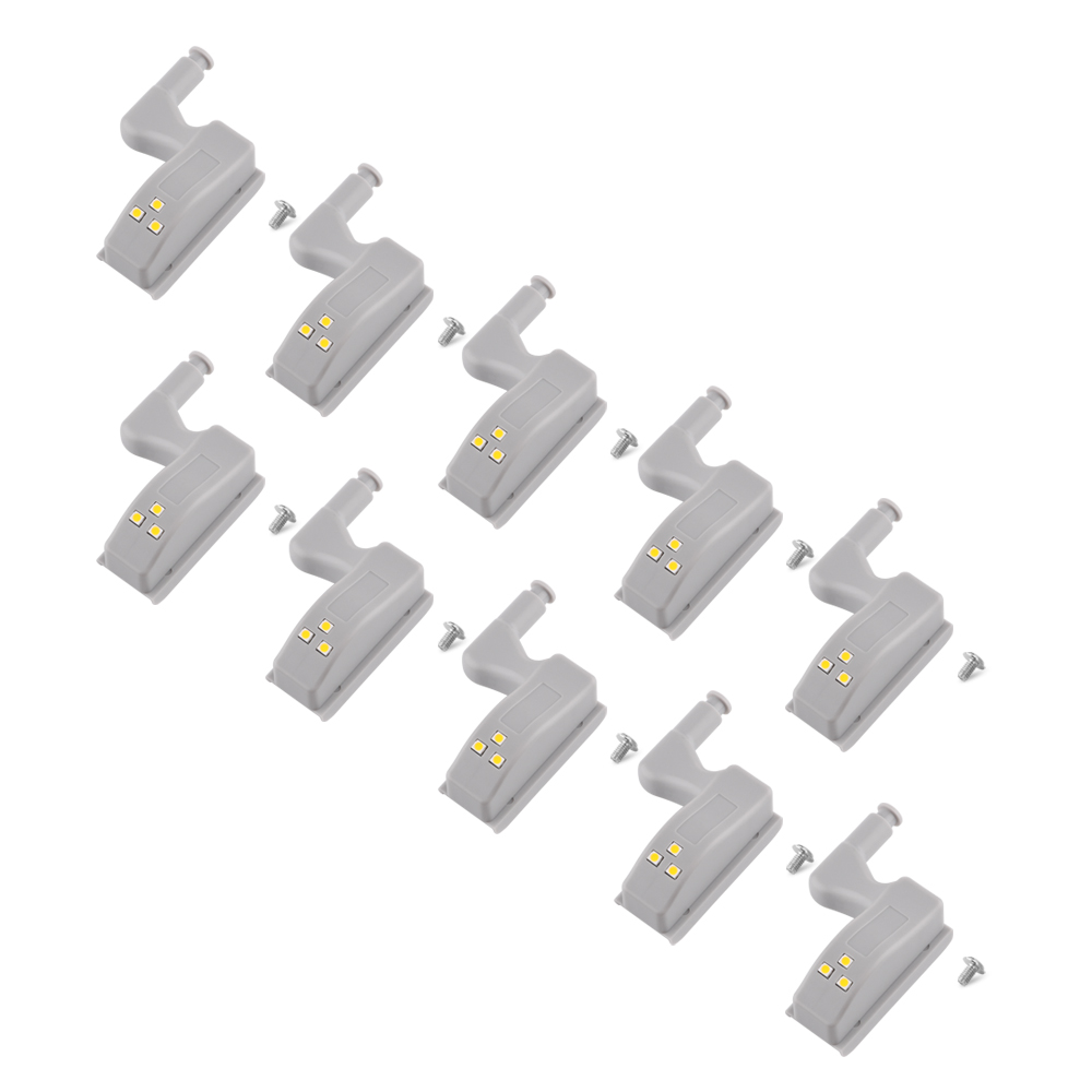 Analytical 10pcs Night Light Led Cabinet Hinge Led Sensor Light Wardrobe Lamp Cupboard Door Bulb Kitchen Lighting 0.25w Lampada Strengthening Waist And Sinews Back To Search Resultslights & Lighting