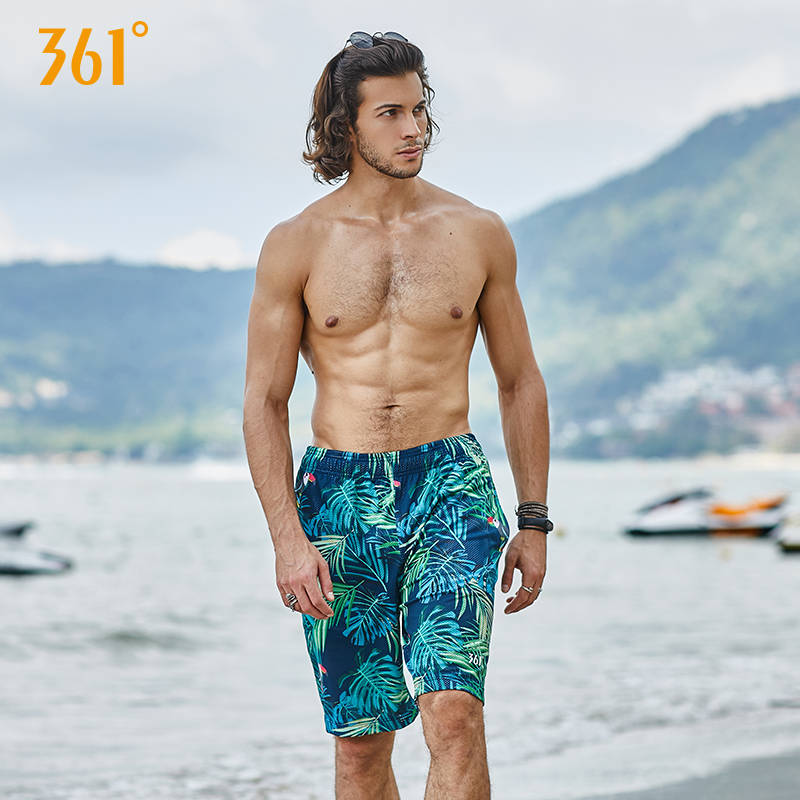 361 Summer Beach   Shorts   Men Vocation Casual Sport Swimwear   Short   Pants Couple Beach   Board     Shorts   Pool Hot Spring Surfing Trunks