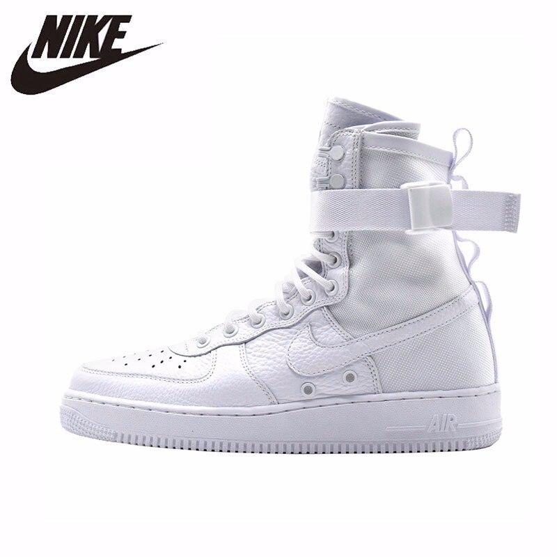 plus récent 7d030 1fe9f € 90.8 55% de réduction|Nike SF AF1 Original nouveauté hommes chaussures de  skateboard haute aide confortable sport baskets #903270 100-in Planche à ...
